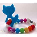 Blue Fox Silicone Teether & Chew Toy