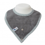 Bamboo cloth Bib * Grey
