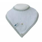 Bamboo cloth Bib * Blue