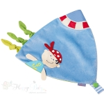 Baby Appease Towel / Tags - Pirate