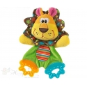 Soft Baby Rattler and Teether - LION