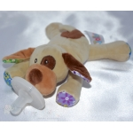 DOG Soother Dummy & Comforter Toy Pacifier