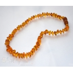 Baby Amber Teething Necklace & Honey Amber