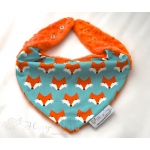 Warm Scarf / Bandana - FOXES & Orange