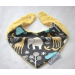 Warm Scarf / Bandana - ZOOLOGIE & Yellow