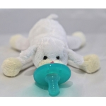 Soft Cozy Plush Toy Pacifier /Good Sleep - SHEEP