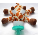 Soft Cozy Plush Toy Pacifier /Good Sleep - GIRAFFE