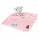 Pink Tiny Tatty Teddy Bear Baby Comforter