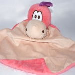 Pink Dragon PERSONALISED Baby Comforter Snuggle Blanket