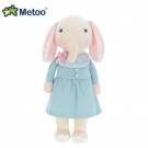 Metoo Elephant Doll wear Aqua Blue Dress - 32 cm.