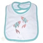 FISH Embroidered Classic Bib