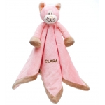 Personalised Teddykompaniet CAT Baby Cuddle Comforter Blanket