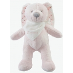 Plush Bunny Soft Toy with Gift Box-Pink