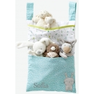 Personalised Bag with Soft Toy & Organizer