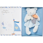 Plush Bear In Keepsake Box , DOUDOU ET COMPAGNIE