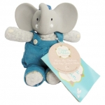 Alvin Elephat Teether Toy & Soft Plush