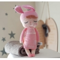 Personalised Pink  Angela Doll - Bunny Doll - 42cm / METOO baby