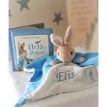 Personalised Baby Peter Rabbit Comforter Blanket / Beatrix Potter Blanket