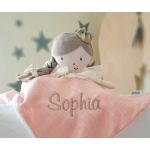 Personalised Girls Comforter  FAIRY / Finger puppet / Modern Baby Blankie by Mamas & Papas