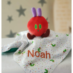 Personalised Baby Comforter - Boy Girl Toddler Gift - Caterpillar Comfort Blanket -