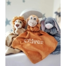 Personalised BoBo Buddy Comforter / BoBo's Story Character / Security Baby Blanket / Baby's friends  - MONKEY