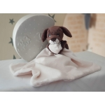 Personalised BoBo Buddy Comforter / BoBo's Story Character / Security Baby Blanket / Baby's friends - PUPPY DOG