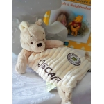 Personalised Disney Winnie The Pooh  Comfort Blanket .  Hundred Acre Wood Winnie The Pooh