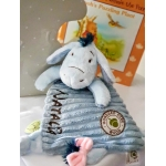 Personalised Disney Eeyore Comfort Blanket .Hundred Acre Wood