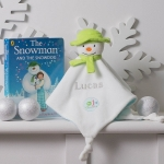 Personalised The Snowman / My First Christmas / Comforters Blanket / Baby Christmas Gift / The Snowman