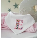 Liberty of London Bib /Personalised Baby Bandana Bib / Monogrammed Bibs