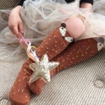 Fox Knee Socks - Mini Dressing - Brown size M (3-4 years)