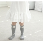 Snake Children`s Knee High Socks / Baby warmers / Toodler socks Grey Size S (1-2 yrs)