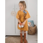 SET Fox Brown Bag + Knee Socks - Mini Dressing