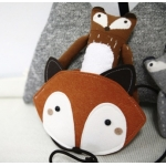 Cute Fox Girls Bag - Mini Dressing - Brown