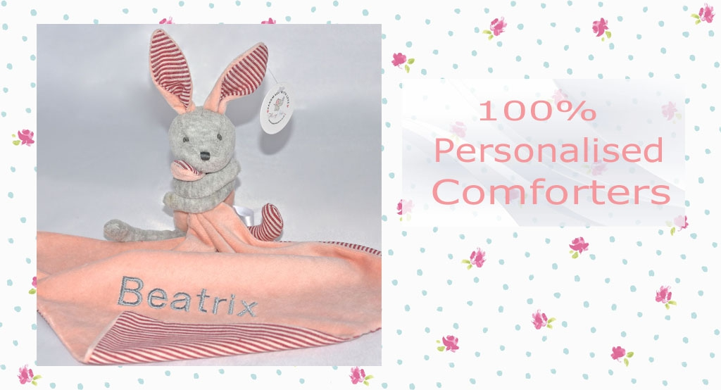 Personalised Baby Comforters